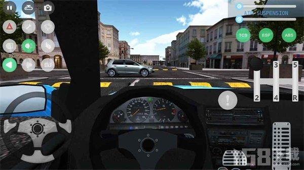 真实驾驶停车场