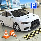 汽车驾驶停车场