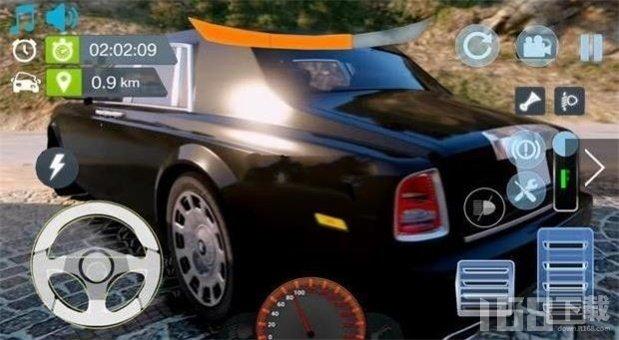 模拟劳斯莱斯豪车
