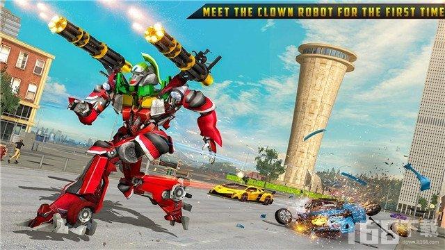 小丑改造机器人