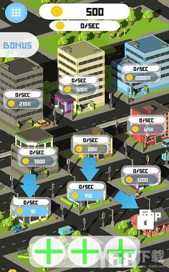像素放置城市
