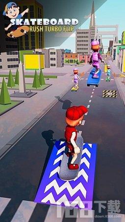 儿童滑板酷跑