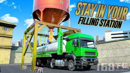 越野油轮飞行卡车运输司机