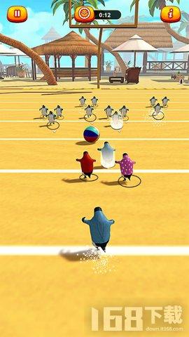 企鹅欢乐踢球