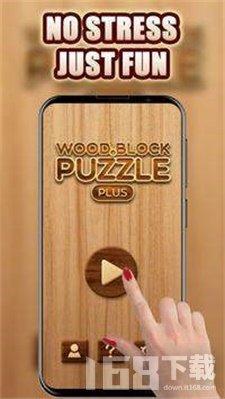木块有趣的拼图