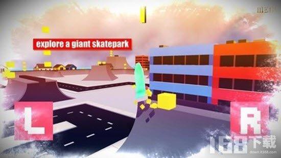 迷你滑板公园