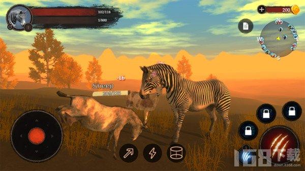 斑马王模拟器