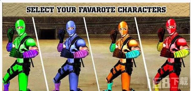 超级英雄战斗队