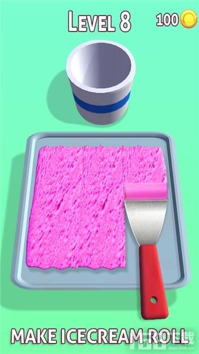冰淇淋卷炒冰
