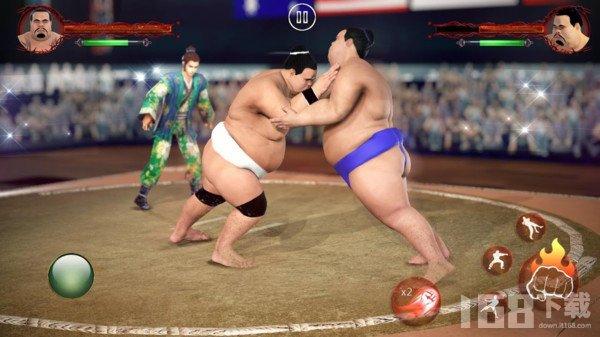 胖子的摔跤术