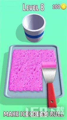 冰淇淋卷炒冰淇淋机