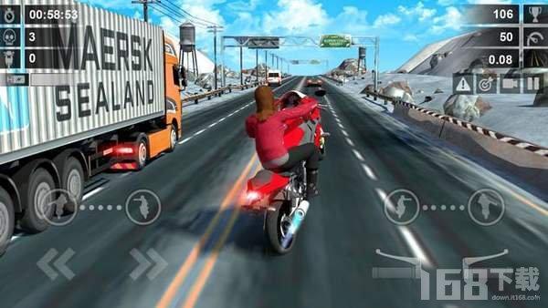暴力的公路摩托3D