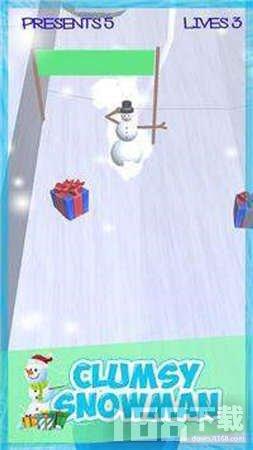 傻傻呼呼的雪人