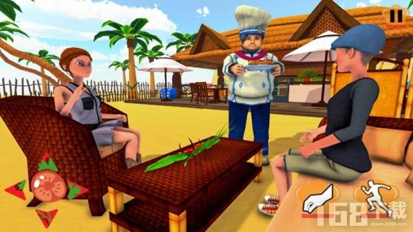 虚拟烹饪模拟器