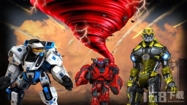 未来龙卷风机器人