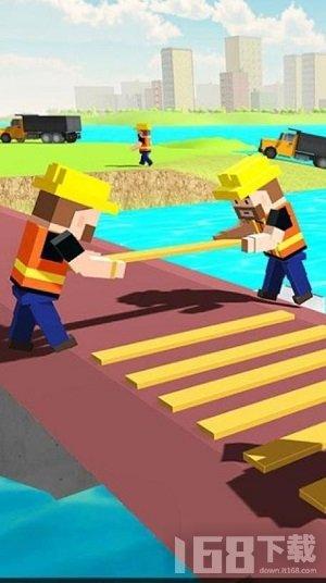 像素桥梁建造师