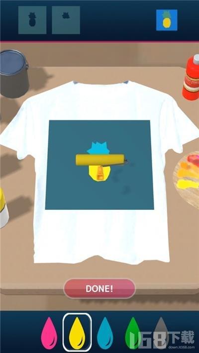 虚拟T恤印刷