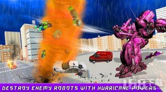 龙卷风机器人汽车