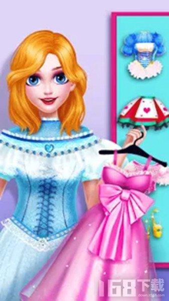 芭比公主浪漫换装