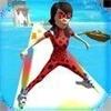 女英雄溜冰