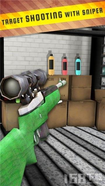狙击枪瓶子挑战