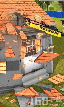 挖掘机城市破坏