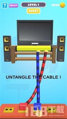 电器绳索解开