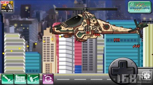 战斗机恐龙机器