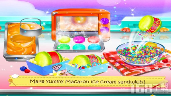 儿童圣代冰淇淋