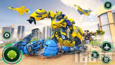 战斗机改造机器人