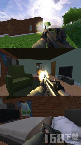 房子摧毁模拟