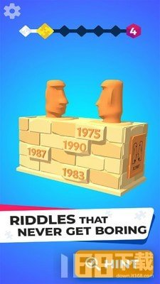 逻辑拼图3D游戏