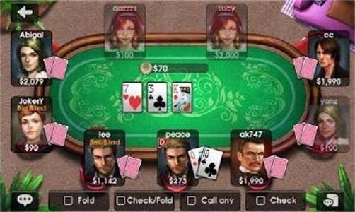 德克萨斯扑克牌