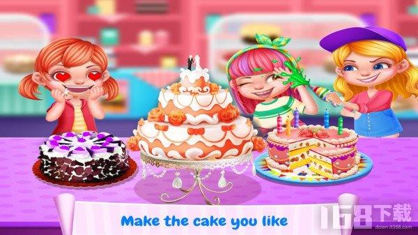儿童蛋糕制作