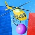 破坏直升机游戏