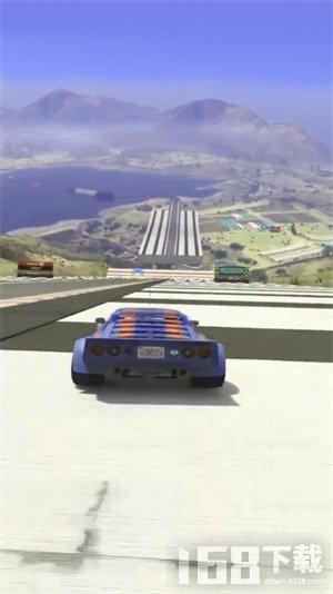天空飞跃特技车