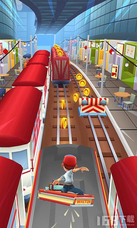 地铁跑酷游戏