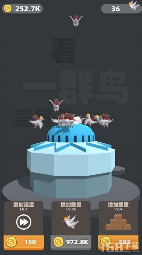 看一群鸟盖房子中文版