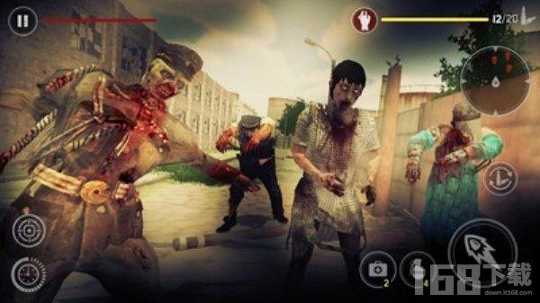 僵尸致命射击游戏