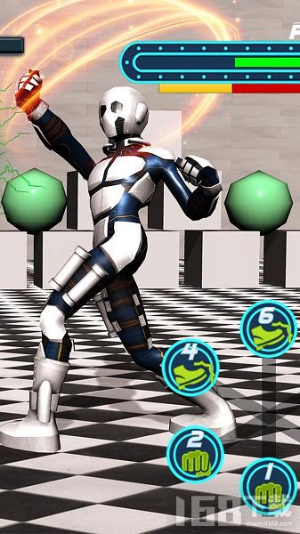 机器人对战超级英雄