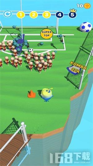 疯狂小鸡足球手游
