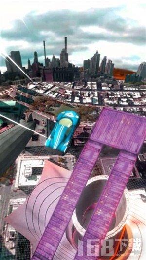 天空飞跃特技车游戏