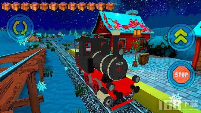 圣诞玩具火车