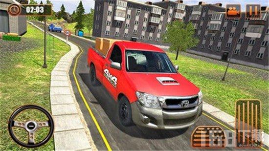 越野货运司机驾驶模拟