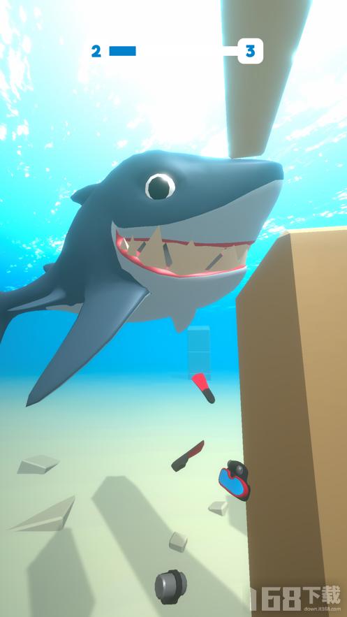 大白鲨逃脱游戏