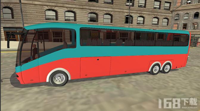 公交车模拟器城市教练山驾驶