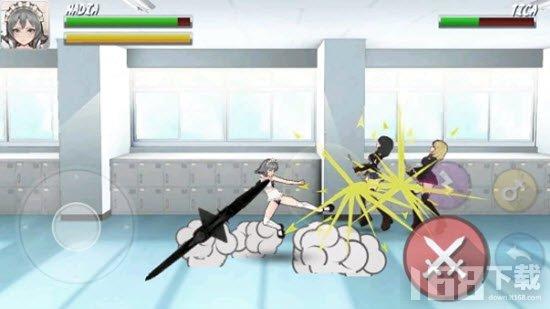 高中忍者女孩战斗