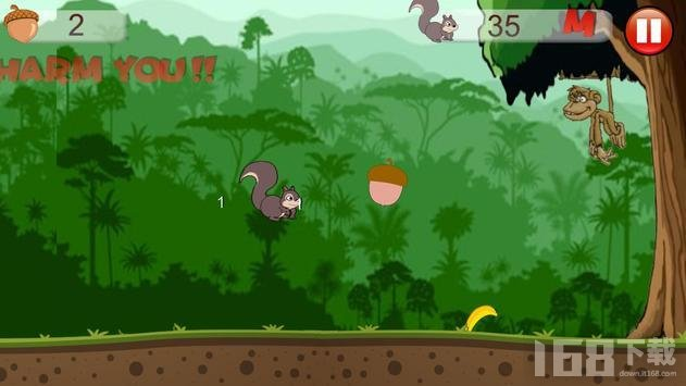松鼠跑酷历险
