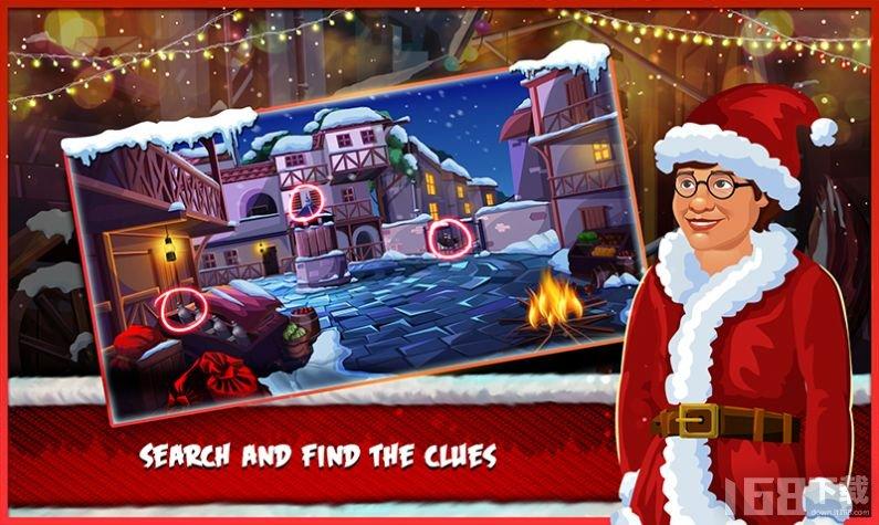 圣诞房间逃生