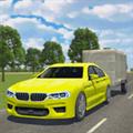 汽车拖车驾驶运输